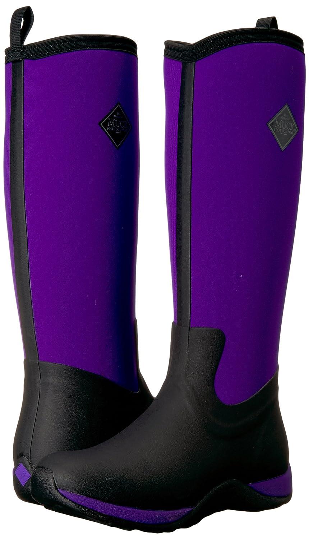 Muck Boot Women's Arctic Adventure Tall Snow US Black/Purple Boot B00BN611V2 11 B(M) US Black/Purple Snow 25a0f1