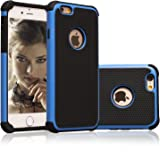 iPhone 6 Case, AUMI Hybrid Dual Layer Shock Absorbin Armor Defender Protective Case Cover (Hard Plastic with Soft Silicon) for Apple iPhone 6 4.7 Inch