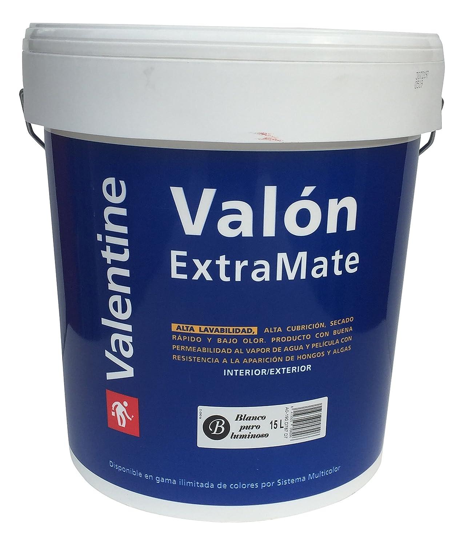 Blanco, Cin Valentine 0370003 Val/ón Extra Mate grande pintura pl/ástica