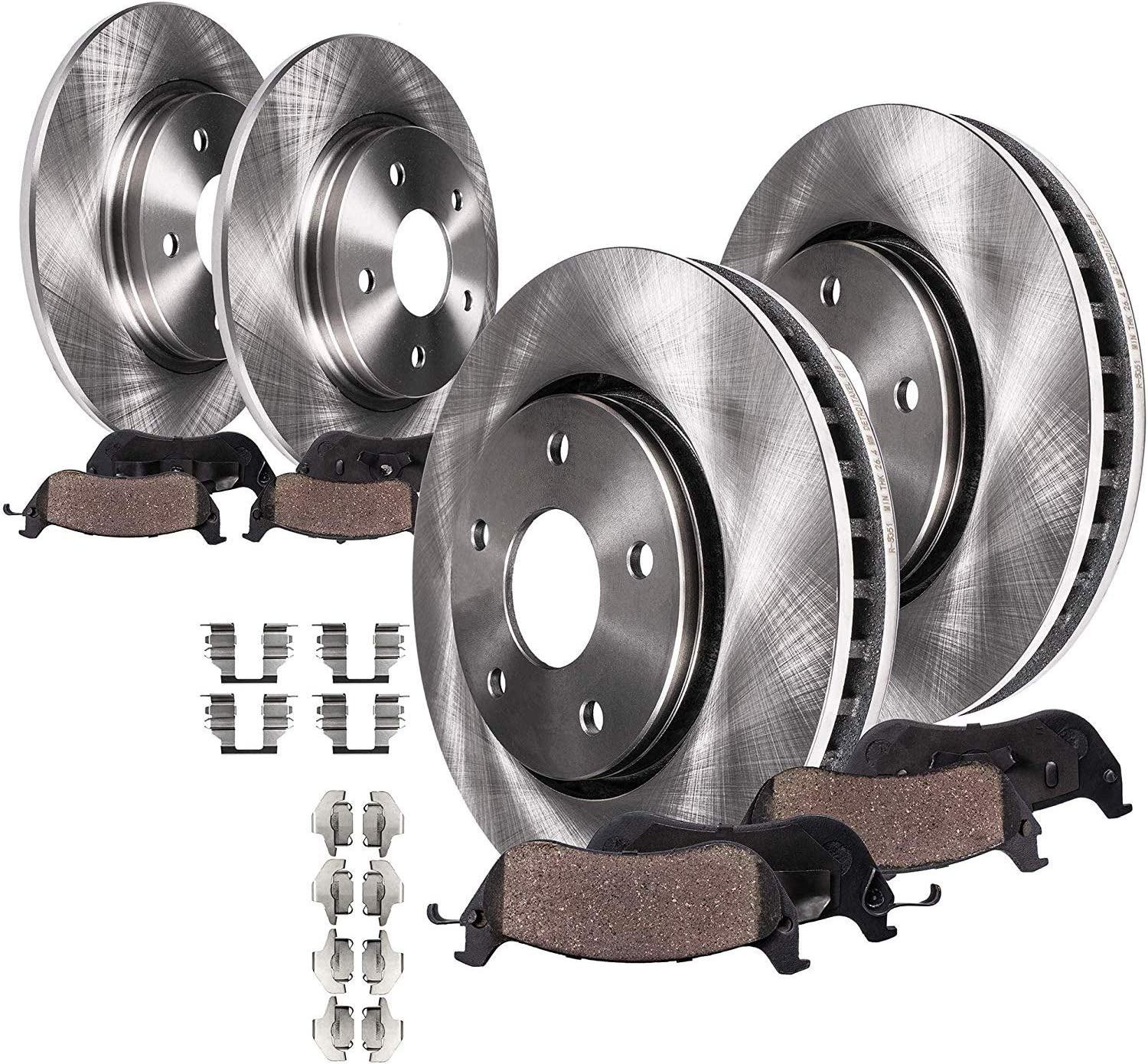 1999 For Volkswagen Jetta Rear Brake Rotors and Brake Pads
