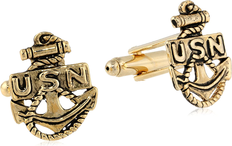 Navy Status Mens Cuff Links U.S
