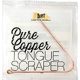 The Dirt All Natural Anti-Microbial Copper Tongue Scraper