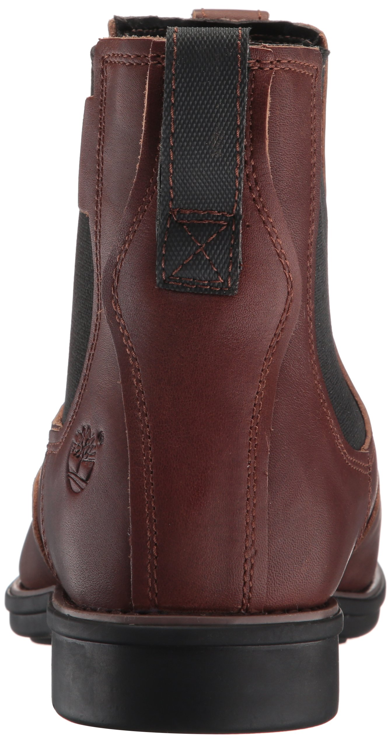 Timberland Men's Carter Notch Chelsea Boot, Dark Brown Full Grain, 14 C US by Timberland (Image #2)