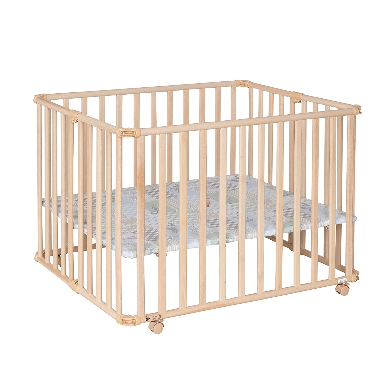 GEUTHER Parc Pliable Ameli Papillon Naturel GEUR3 2260 04 NA