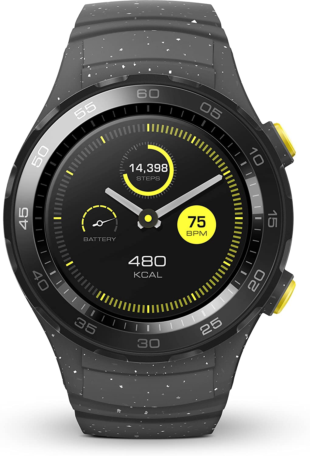 HUAWEI Watch 2 - Smartwatch Android (Bluetooth, WiFi) Color Gris ...