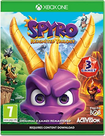 Spyro Trilogy Reignited - Xbox One [Importación inglesa]: Amazon ...