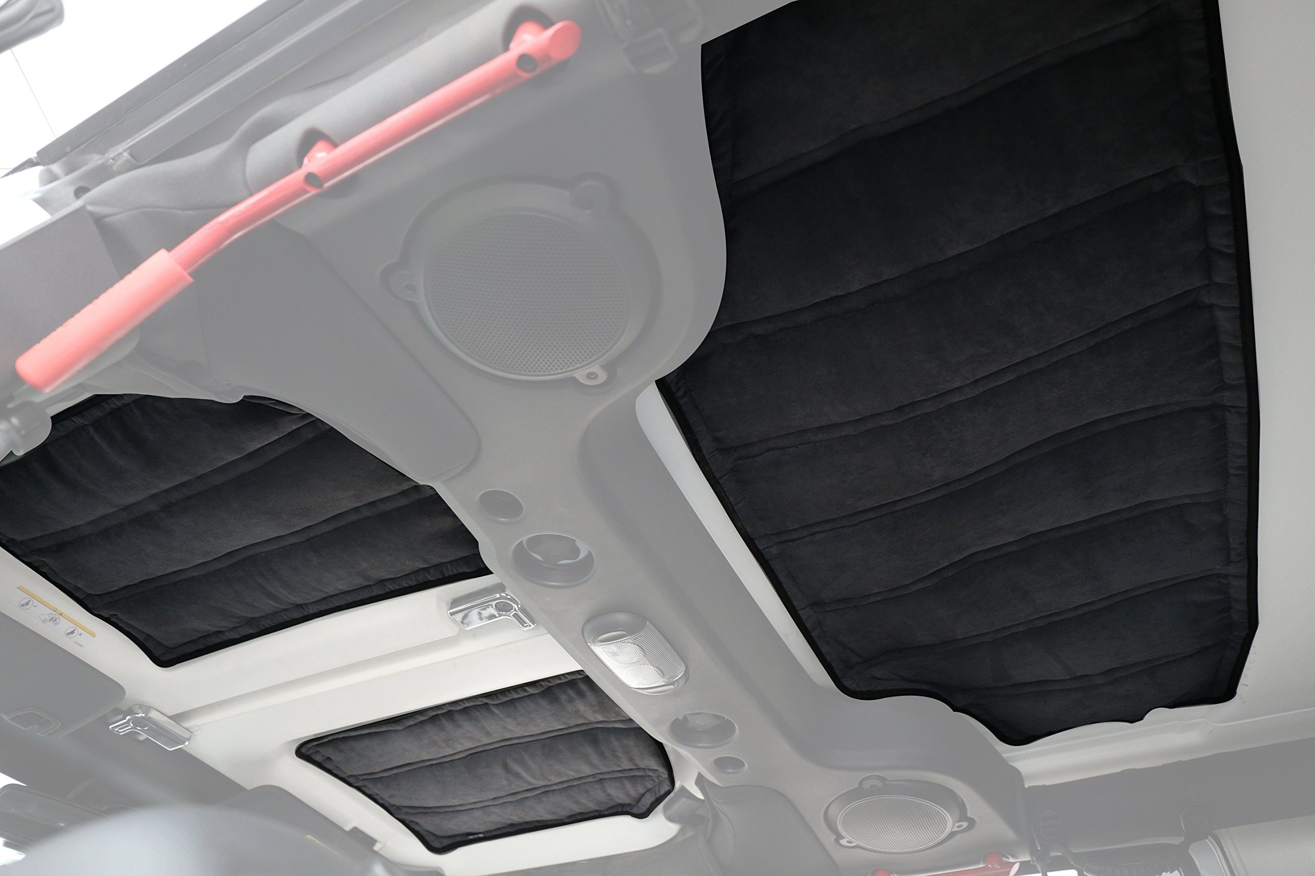 Hooke Road Hardtop Sound Deadener Insulation Kit for 2011-2018 Jeep Wrangler JK Unlimited 4-Door
