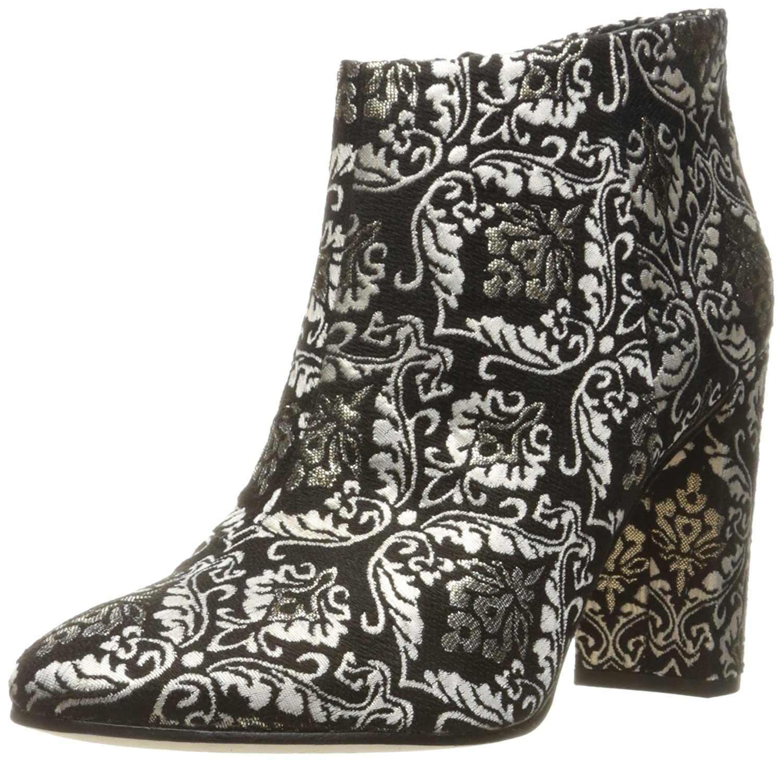 Sam Edelman Women's Cambell Ankle Bootie B01M22C6ES 9 B(M) US|Black/Gold