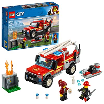 LEGO City Fire Chief Response Truck 60231 Building Kit (201 Pieces): Toys & Games