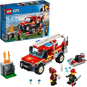 LEGO City Fire Chief Response Truck 60231 Building Kit (201 Pieces)