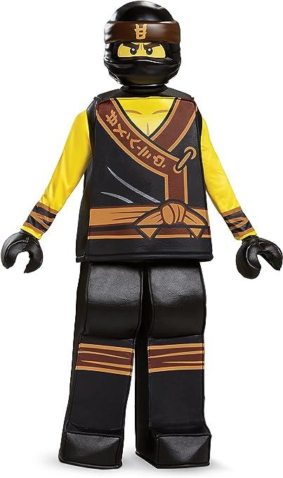 Small 4-6 Disguise Lego Ninjago Movie Cole Prestige Kids Costume