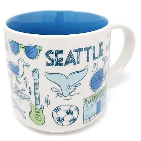 Starbucks Been There Series Seattle Washington Usa 14oz