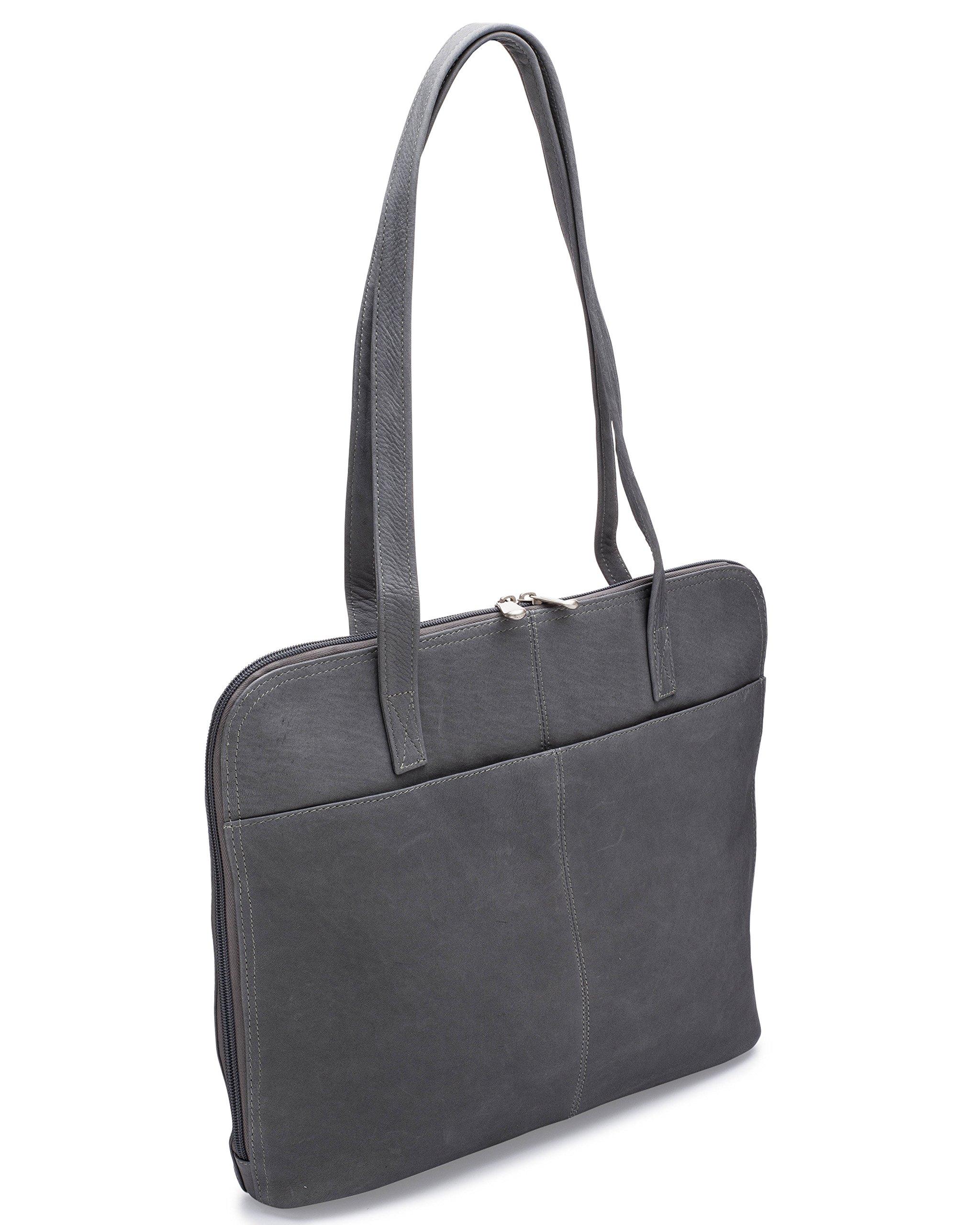 Le Donne Leather Company LD-8042-Gray Handbag