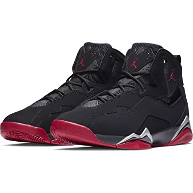 Image Unavailable. Image not available for. Color  Jordan True Flight Men s  Basketball Shoes Black Gym Red-Metallic ... b08a2f841