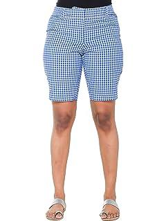 bd6b3c67fd Lesimsam Women's Camo Cargo Shorts Trousers Casual Short Pants ...