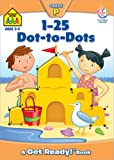1-25 Dot-to-Dots (A Get Ready Book, Ages 4-6)