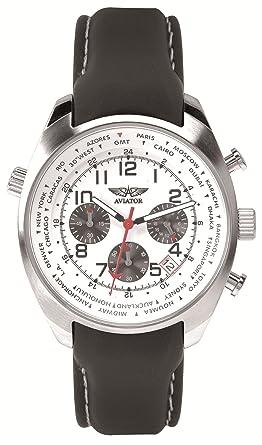 Aviator avw5839g4 - Montre de Poignet pour homme  Amazon.fr  Montres 3458eecb4d4e