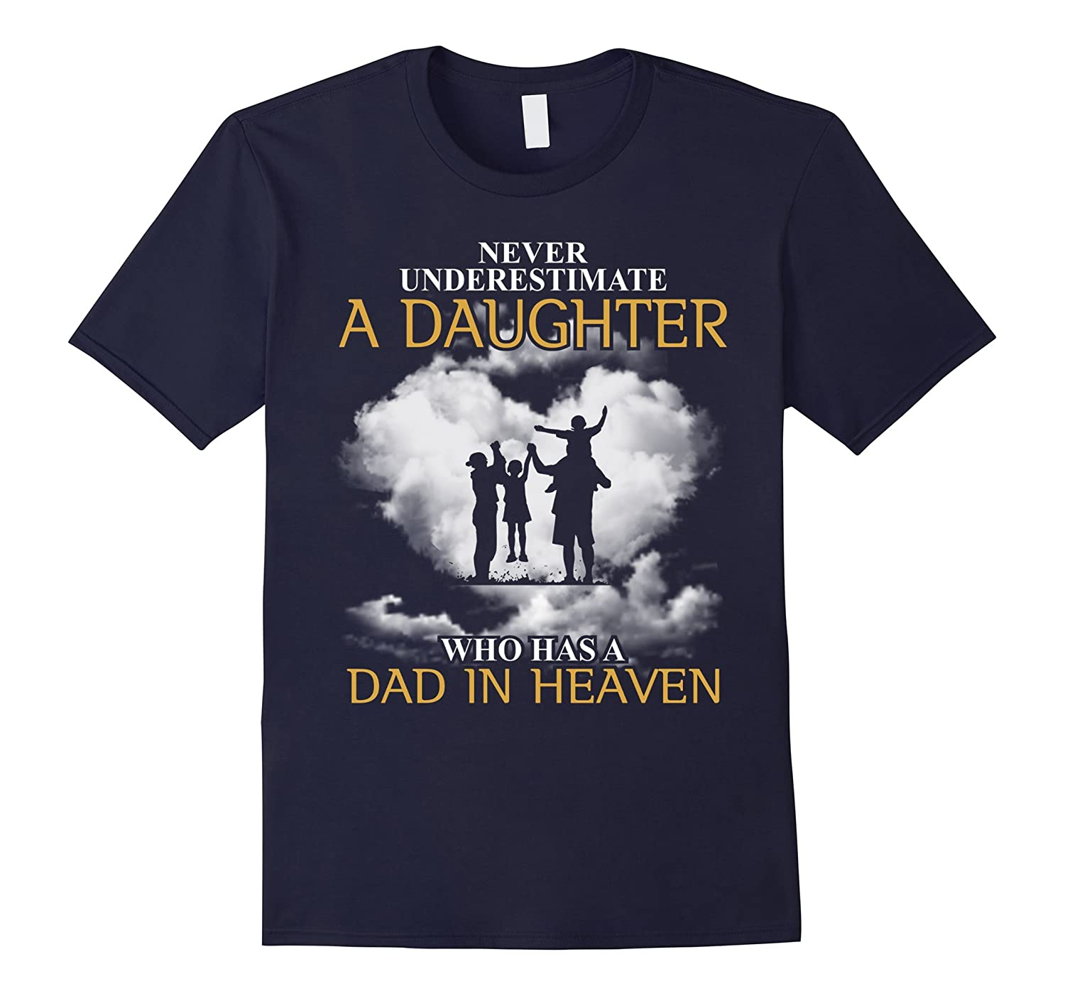 A Dad In Heaven T-shirt-BN