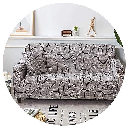 Amazon.com: Sofa Cover Sofa Cover Cotton Elastic Slipcovers ...