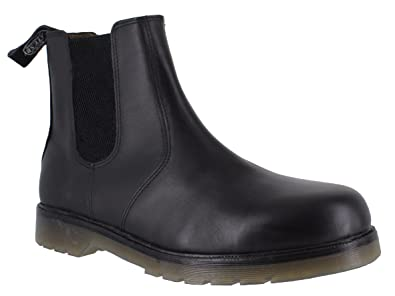 Kleidung & Accessoires 01700 Catesby Mens Pull On Leather Smart Chelsea Dealer Winter Ankle Boots Shoes