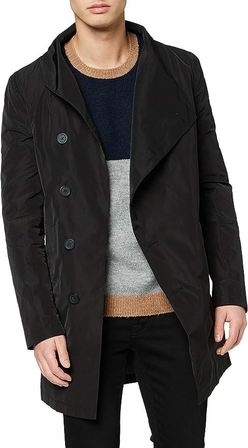 Religion Nord Assymetric Coat Abrigo para Hombre