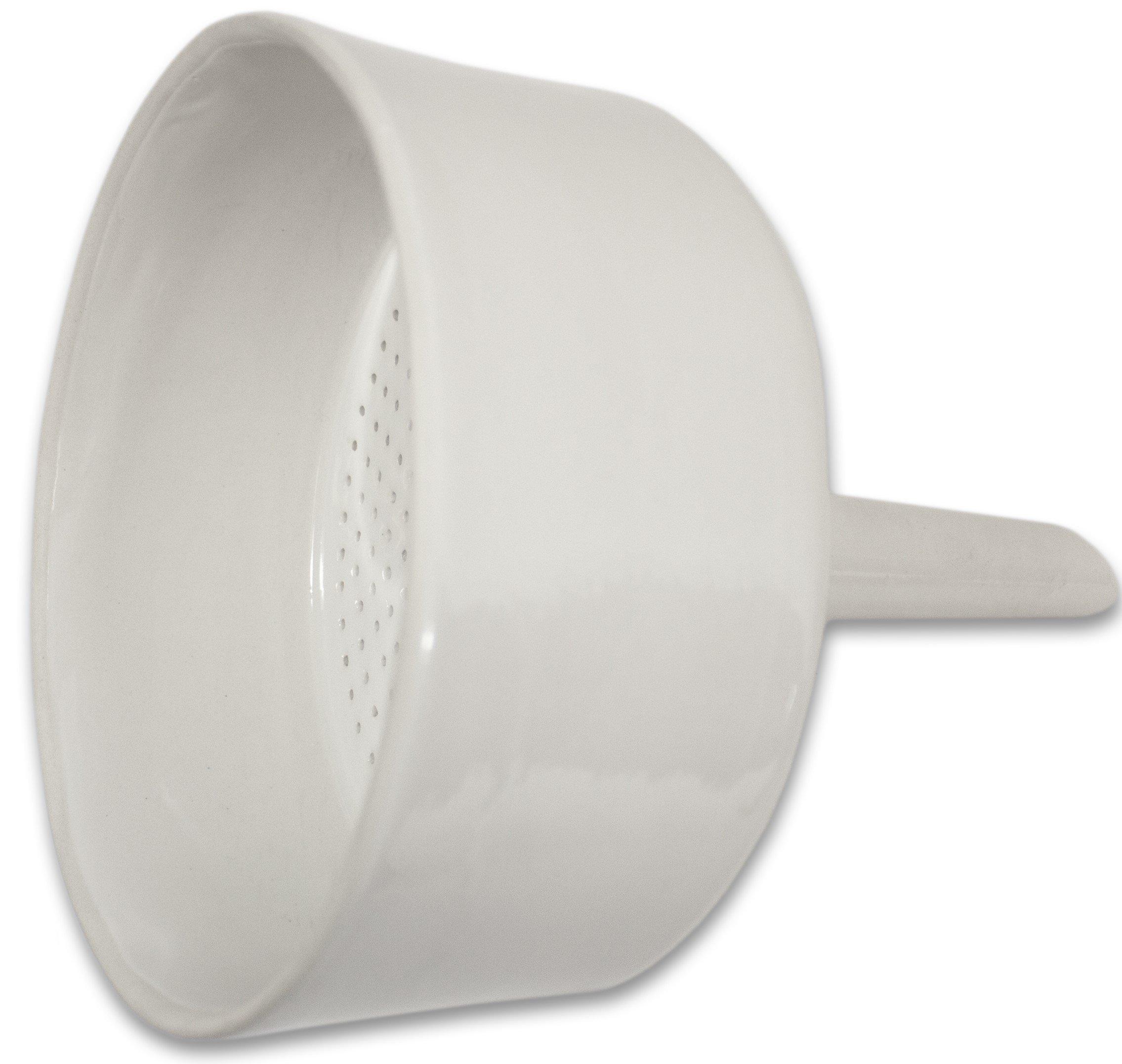 Sterlitech Corporation Buchner Funnel, Porcelain, Capacity 800ML, Paper Size 125 mm