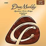 Dean Markley Signature Vintage Bronze Acoustic Strings, 11-52, 2002, Light