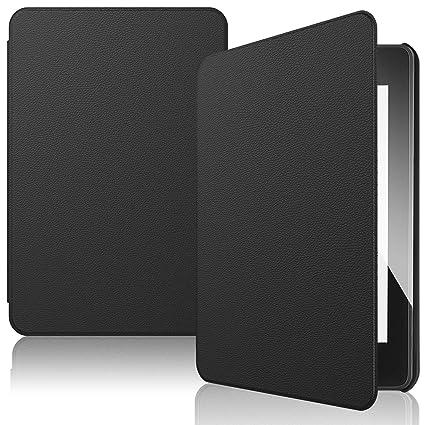 IVSO Hülle für Neu Kindle Paperwhite 2018, Ultra Schlank Slim Schutzhülle Hochwertiges PU Perfekt Geeignet für Amazon Kindle