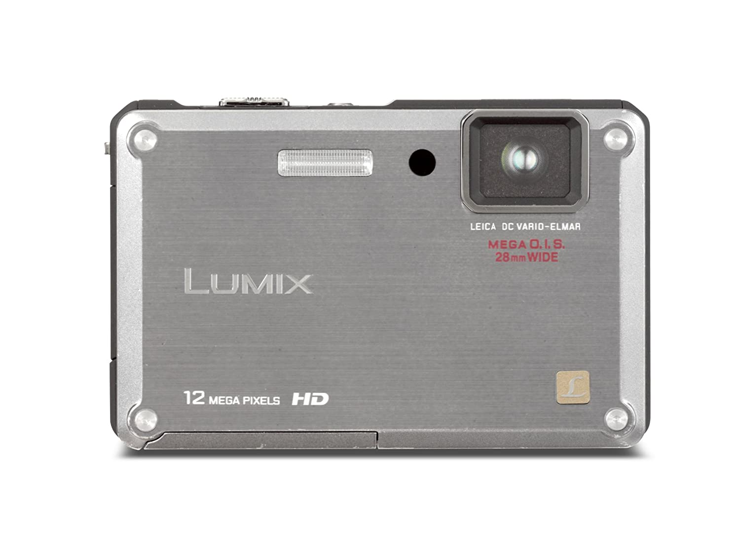 Amazon.com : Panasonic Lumix DMC-TS1 12MP Digital Camera with 4.6x Wide  Angle MEGA Optical Image Stabilized Zoom and 2.7 inch LCD (Silver) : Point  And Shoot ...