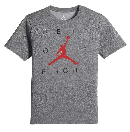 632919b6ca7a5 Amazon.com: NIKE Air Jordan Dry 7 Big Kids' (Boys') T-Shirt: Clothing