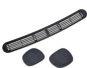 Dash Defrost Vent Cover Left Right Speaker Grille Set for 1998-2005 Chevrolet S10 GMC Jimmy Sonoma/Oldsmobile Bravada/Blazer