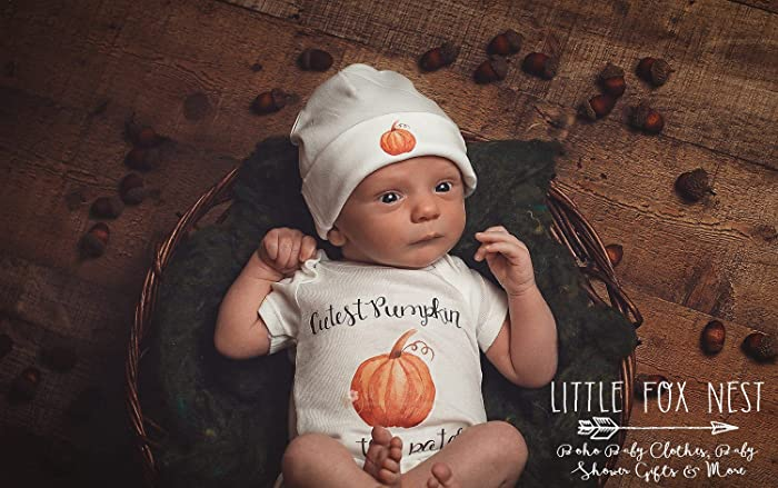 7a89e6b9959 Amazon.com: Halloween Onesie®, Pumpkin Onesie®, Newborn Takehome ...