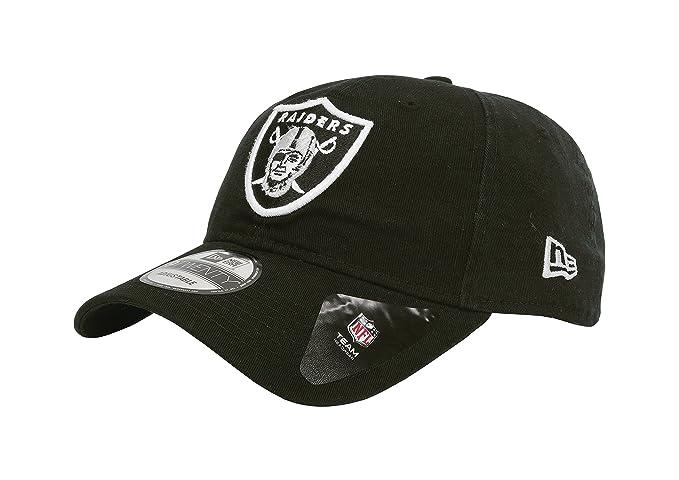 6f2c5465f41 Amazon.com  New Era Men s Oakland Raiders 9Twenty Core Black Hat ...