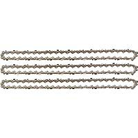 """3 tallox cadenas de sierra 3/8"""" 1,3 mm 50 eslabones 35 cm compatible con Stihl"""