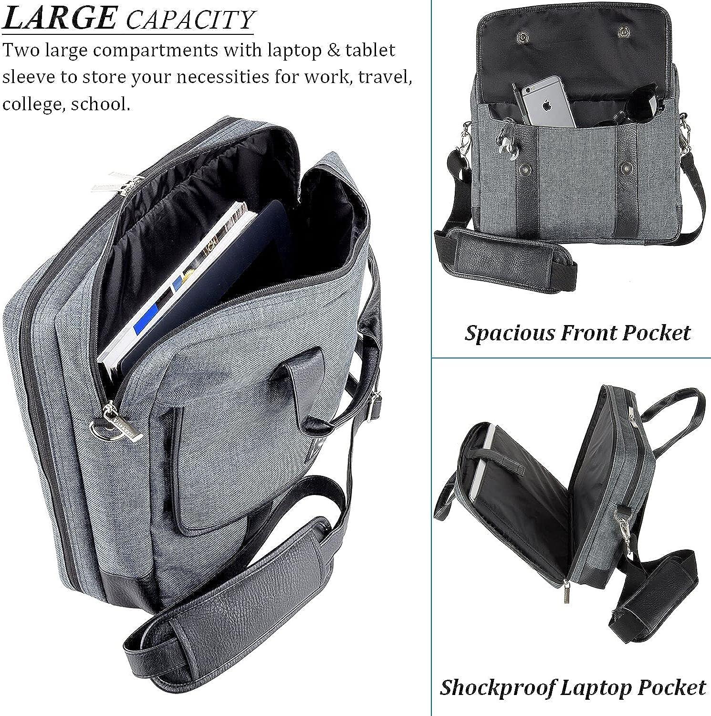 Eagle Catch USA Flag Laptop Messenger Bag Laptop Messenger Shoulder Bag with Strap Fit for 13-15.6 inch Notebook