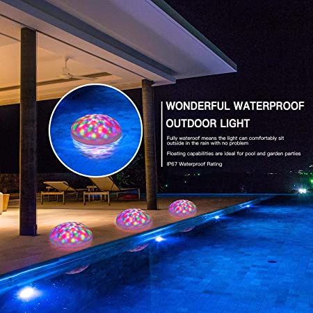 Sunwind Multi-color Solar Floating Pool Lights