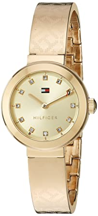 79a0519c Tommy Hilfiger Women's Quartz Tone and Gold Casual Watch(Model: 1781720)