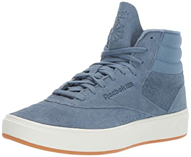Reebok Women s Freestyle HI NOVA Sneaker Blue Slate Chalk Gum 5 ... de40ef197