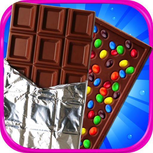Chocolate Candy Bar Maker & Bubble Gum Maker - Kids Cooking & Food Maker Games FREE -