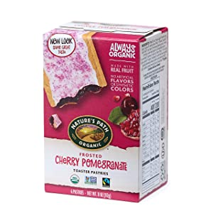 Nature's Path Organic Frosted Cherry Pomegranate, Toaster Pastries -11 Ounce