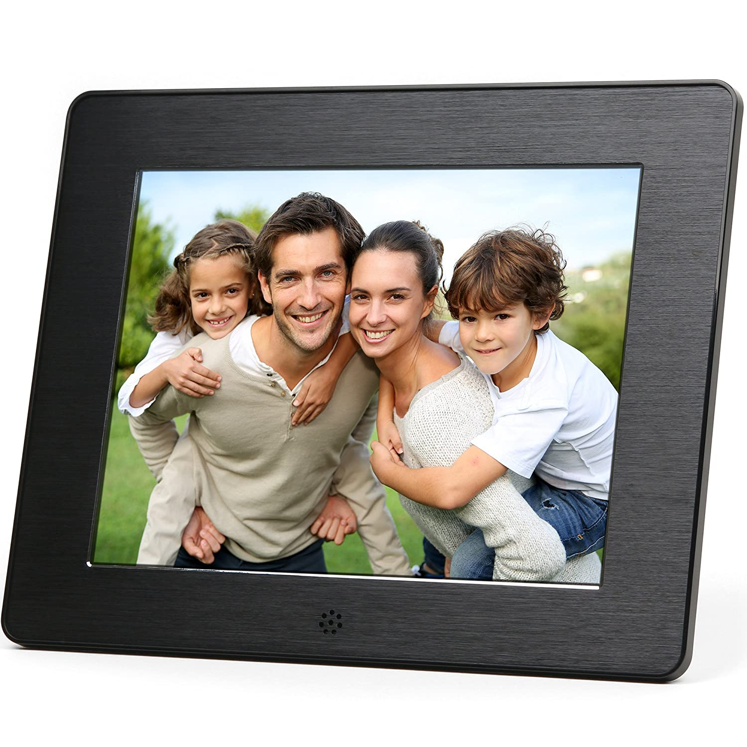 Amazon digital picture frames electronics micca 8 inch digital photo frame with high resolution lcd and auto onoff jeuxipadfo Images