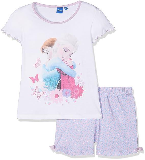 Disney Frozen Conjuntos de Pijama para Niñas, Morado (Purple 14-3612TC),