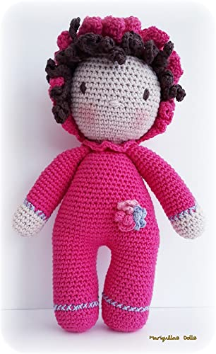 Muñeca Bebé. Crochet . Amigurumi. ENVÍO GRATIS: Amazon.es ...