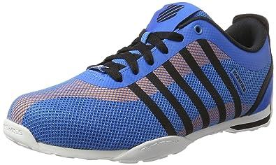 f1014ed989 K-Swiss Herren Arvee 1.5 Tech Sneakers, Mehrfarbig(Brilliantblue/Blk/Wht