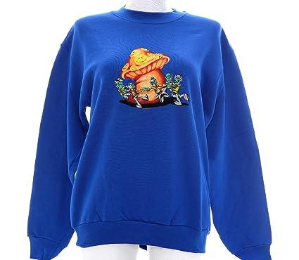 tolle Preise Luxusmode bezahlbarer Preis SHROOMS Sweatshirt Nr. 4 Pullover Royalblau Größe M ...