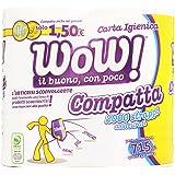 Wow! - Carta Igienica, 2 veli - 715 g  4 rotoli