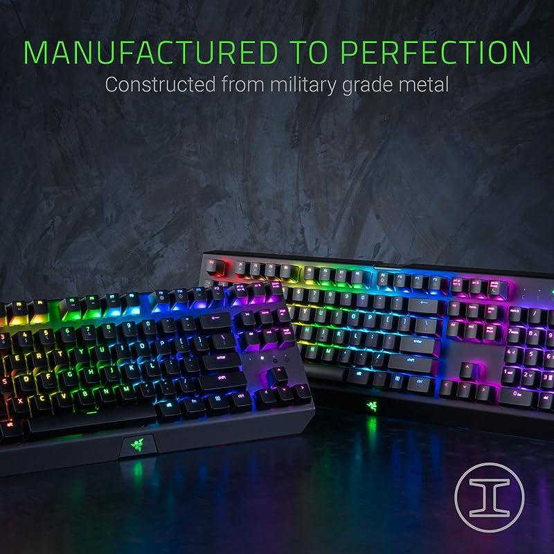 Razer BlackWidow X Chroma, Clicky RGB Mechanical Gaming Keyboard 3