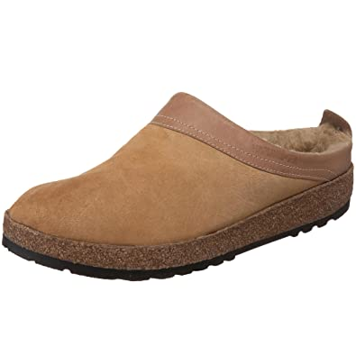 3446c37d7ece Haflinger Women s Snowbird Shearling Leather Clog  Amazon.co.uk ...
