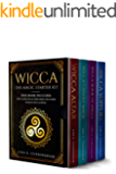 Wicca: The Magic Starter Kit. This book includes: Wicca Altar, Wicca Candle Magic, Wicca Book of Spells, Wicca supplies.