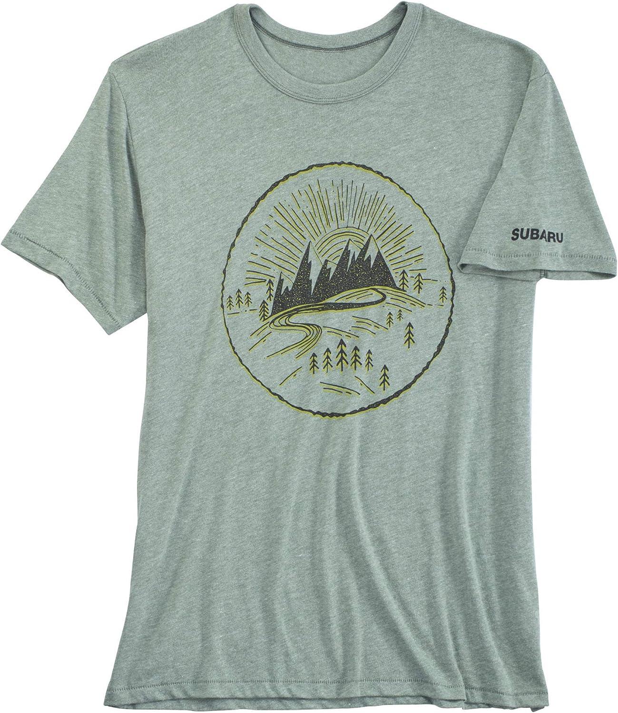 Small SUBARU Genuine Logo Discover Tee Shirt T Impreza STI WRX Forester Outback Ascent Legacy Crosstrek BRZ